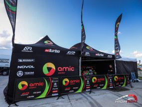 tentes pliantes V3 PRO de TVN Turbo Rally Team