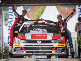 premier podium pour William Wagner, Kevin Millet et le team Sébastien Loeb Racing